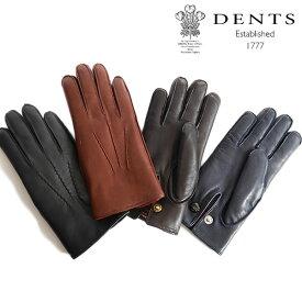 DENTS デンツ レザーグローブ 手袋 ラビットファー 15-1590 Lumley うさぎ メンズ