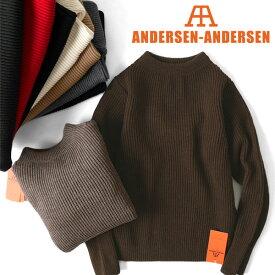 ANDERSEN-ANDERSEN アンデルセン アンデルセン クルーネック セーター 5GG (メンズ レディース)