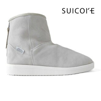SUICOKE Sui cook mid mouton boots OG-080M-MID black gray (men's Lady's)