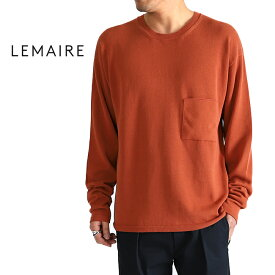 [TIME SALE] LEMAIRE ルメール コットン ニットセーター (メンズ)