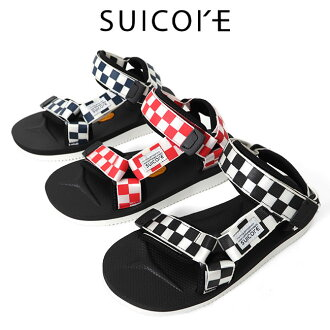 SUICOKE Sui cook DEPA checker flag sandals check vibram Vibram (men's Lady's)