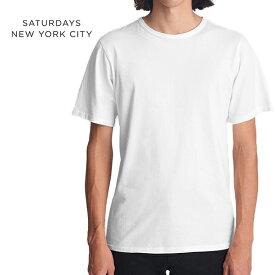 【SALE 40%OFF】Saturdays NYC サタデーズ ニューヨークシティ プレーンTシャツ M11811BR01 無地 (メンズ)