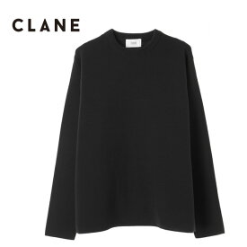【TIME SALE 40%OFF 10/23(水) 9:59まで】CLANE HOMME クラネオム コットン ニットセーター (メンズ)