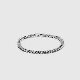 TOMWOOD トムウッド チェーン ブレスレット シルバー Curb Bracelet L
