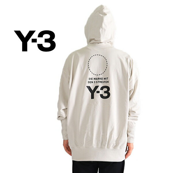 Y-3 ワイスリー オーバーサイズ スウェットパーカー DP0459 DP0460 Yohji Yamamoto ヨウジヤマモト (メンズ)