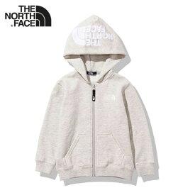 THE NORTH FACE ノースフェイス ジップ スウェットパーカー NTJ11906 裏起毛 (キッズ)