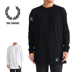 FredPerry by Rafsimons フレッドペリー ラフシモンズ ロンT SM4105 長袖Tシャツ (メンズ)