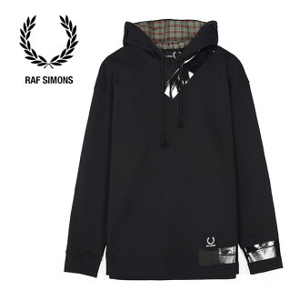 FredPerry by Rafsimons Fred Perry rough Simmons sweat shirt parka SM4106 (men's)