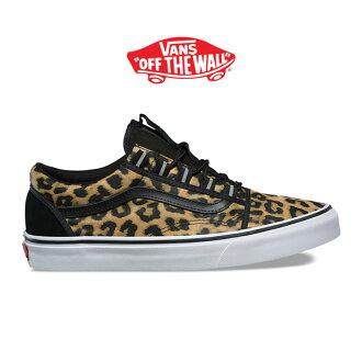 All VANS vans Leo soft-headed doh DOS cool ghillie Old Skool Ghillie leopard pattern sneakers shoes (men's Lady's)