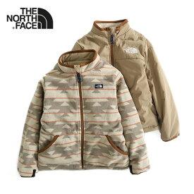 THE NORTH FACE ザ ノースフェイス リバーシブル フリースジャケット NYJ81812 バスクジャケット ギフト プレゼント (キッズ)
