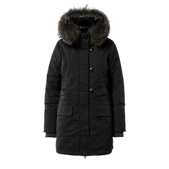 N3-B military down coat RYANATRE re-Anato Mods coat (Lady's) with the DUVETICA duvet Thika fur