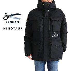 DENHAM × MINOTAUR デンハム ミノトール コラボ フード付き ダウンジャケット MINOTAUR DOWN M-65 (メンズ)