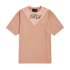 【TIME SALE 50%OFF 8/26(月) 12:59まで】Fred Perry × RAF SIMONS フレッドペリー ラフシモンズ コラボ 切り返しTシャツ SM5135 半袖Tシャツ (メンズ)