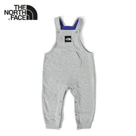 THE NORTH FACE ザ ノースフェイス Sweat Logo Overall スウェット オーバーオール NBB31964 つなぎ ギフト プレゼント (ベビー キッズ)