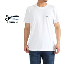 DENHAM デンハム シザーロゴ Tシャツ CREW TEE MOJ 半袖Tシャツ (メンズ)