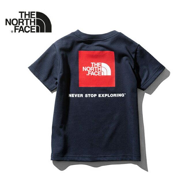 ザ ノースフェイス THE NORTH FACE スクエアロゴTシャツ NTJ31826 NTJ81827 半袖Tシャツ (キッズ ベビー)