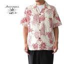 ANATOMICA アナトミカ パイナップル ハワイアンシャツ 530-531-19 総柄 アロハシャツ (メンズ)