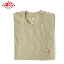 ▼クーポン対象外▼ DANTON ダントン 胸ポケット ロンT JD-9077 長袖Tシャツ (メンズ レディース)