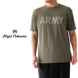 Nigel Cabourn ナイジェルケーボン ARMY Tシャツ 80380021006 (メンズ)