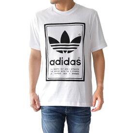 adidas アディダスオリジナルス 両面 ラベルロゴTシャツ (メンズ レディース)
