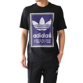 adidas アディダスオリジナルス ラベルロゴTシャツ (メンズ レディース)