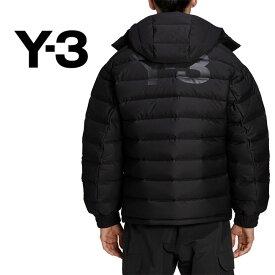 Y-3 ワイスリー フード付き シームレス ダウンジャケット FJ0442 ダウンパーカー Yohji Yamamoto ヨウジヤマモト (メンズ)