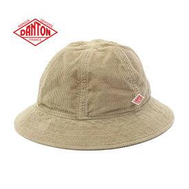 DANTON ダントン コーデュロイ 6パネル ハット JD-7200 LEV 帽子 バケットハット (メンズ レディース)