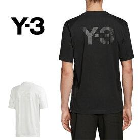 Y-3 ワイスリー バックロゴ Tシャツ FN3348 FN3350 Yohji Yamamoto ヨウジヤマモト (メンズ)