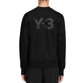 Y-3 ワイスリー クルーネック バックロゴ スウェット FN3371 トレーナー Yohji Yamamoto ヨウジヤマモト (メンズ)