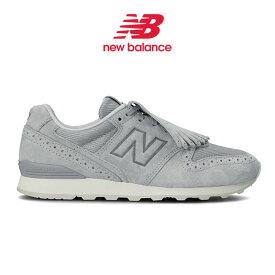 [予約商品] New Balance ニューバランス タッセル付き スエード スニーカー WL996PRA シューズ (レディース)