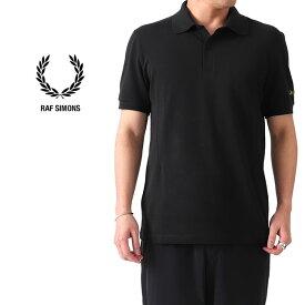 [SALE] FRED PERRY × RAF SIMONS フレッドペリー ラフシモンズ 鹿の子 ポロシャツ SM8122 半袖ポロシャツ (メンズ レディース)