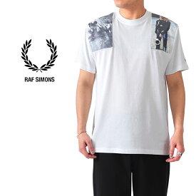 [SALE] FRED PERRY × RAF SIMONS フレッドペリー ラフシモンズ フォトプリント Tシャツ SM8131 半袖Tシャツ (メンズ レディース)