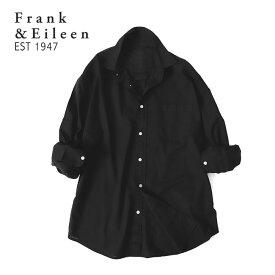 Frank&Eileen フランク&アイリーン LUKE ルーク ライトポプリンシャツ 9920700006 長袖シャツ メンズ