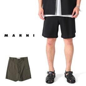 [SALE] MARNI マルニ リップストップ ショーツ PUMU0099O0 S52744 ショートパンツ (メンズ)