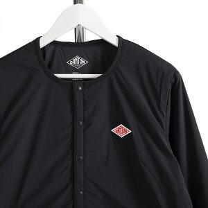 DANTONダントンインサレーションノーカラーストレッチナイロンジャケットカーディガンJD-8885インナーダウン(メンズ