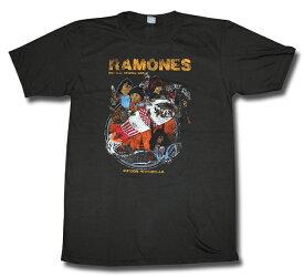 ラモーンズ Ramones バンドTシャツ ロックTシャツ 海外ライセンス製品 Tシャツ メンズ レディース メール便OK