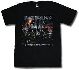 ロックTシャツ アイアンメイデン Tシャツ IRON MAIDEN アイアン・メイデン ロックtシャツ ヘヴィメタル バンドTシャツ 海外バンド メンズ レディース キッズ ユニセックス【メール便OK】