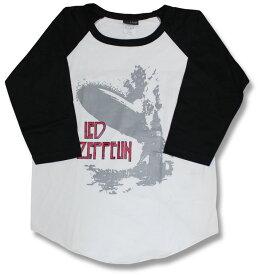 レッドツェッペリン (LED ZEPPELIN) レッド・ツェッペリン ラグランTシャツ/Led Zep/ヘヴィメタル【七分袖】【7分袖】【tシャツ】【安い】【バンドTシャツ】【ロックTシャツ】海外バンド/ラグラン/メンズ/レディース【メール便OK】【RCP】【売れ筋】