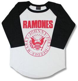 ラモーンズ RAMONES ラグラン Tシャツ ベースボール 七分袖 7分袖 パンク バンドTシャツ ロックTシャツ rock メンズ レディース ユニセックス メール便OK
