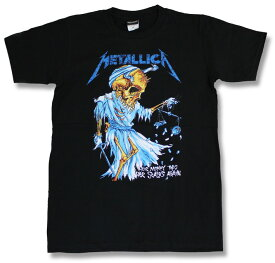 メタリカ Metallica Tシャツ ロックTシャツ バンド Tシャツ ロック ファッション ROCK BAND T-SHIRTS ヘヴィメタルTシャツ メンズ レディース ユニセックス ヘビメタ スカル