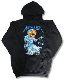 メタリカ パーカー METALLICA Metallica バンド パーカー ロック ファッション rock メンズ レディース キッズ ユニセックス プルオーバー ヘヴィメタル ヘビメタ スカル