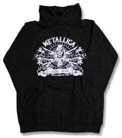 メタリカ Metallica パーカー ロックパーカー rock メンズ レディース キッズ/トップス・パーカー・プルオーバー スウェット ロック バンド ヘヴィーメタル ヘビメタ World Magnetic Tour 春物・秋物・冬物 バーゲン 売れ筋