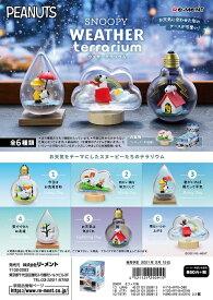 リーメント SNOOPY WEATHER Terrarium 全6種 1BOXでダブらず揃います。