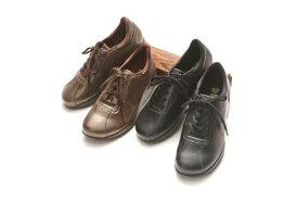 ゴールデンフット 婦人靴 3555 4E クッション性抜群! ラテックスソール ウォーキングシューズ