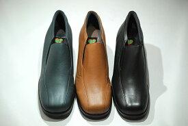 ゴールデンフット 婦人靴 1131 エアーソール スリッポン ウォーキングシューズ コンフォート 3E