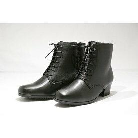 ゴールデンフット レースアップ ブーツ 3E 婦人靴 革