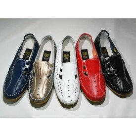 ゴールデンフット 婦人靴 2131 カジュアルシューズ 3E