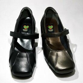 ゴールデンフット 婦人靴 7460 ストラップ カジュアルシューズ