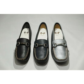 ゴールデンフット 婦人靴 773 ドライビングシューズ モカシン 3E 革