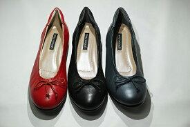 ゴールデンフット 婦人靴 8880 バレエシューズ 革